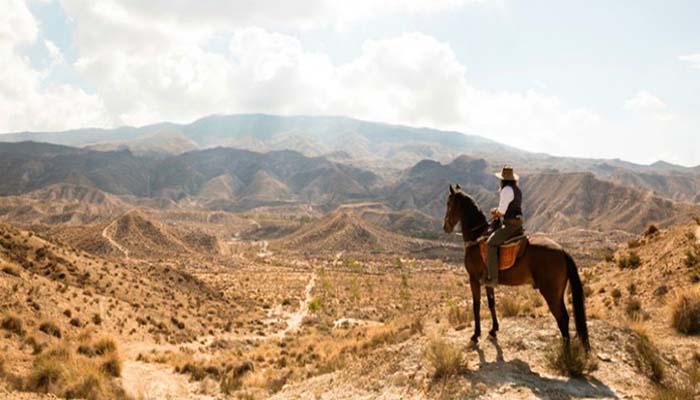 Deserto de Tabernas em Almeria
