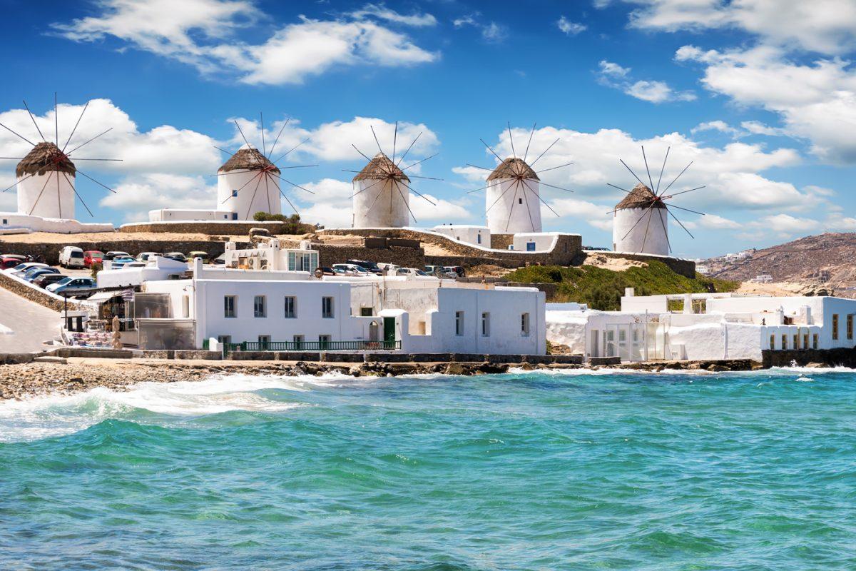 Míconos, a ilha mais animada da Grécia